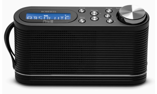 Roberts Play 10 Portable Digital DAB DAB+ FM Radio Black